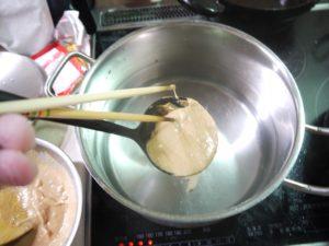 刺身 肝 醤油 ウマヅラハギ 肝味噌汁 味噌汁 肝