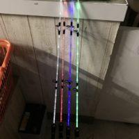 ライトセイバー 光る竿