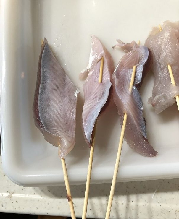 鰆 サワラ サゴシ 串揚げ 串カツ 臭い 匂い におい ニオイ